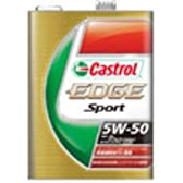 100%化学合成油 カストロールエンジンオイル EDGE Sport 5W-50 20L