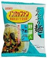 ムソー どんぶり麺・しお味ラーメン 78.5×12袋