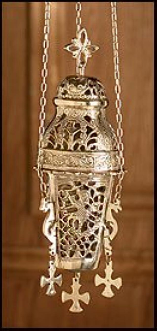 アンデス山脈カスタムわずらわしいOrnate Hanging Incense Burner