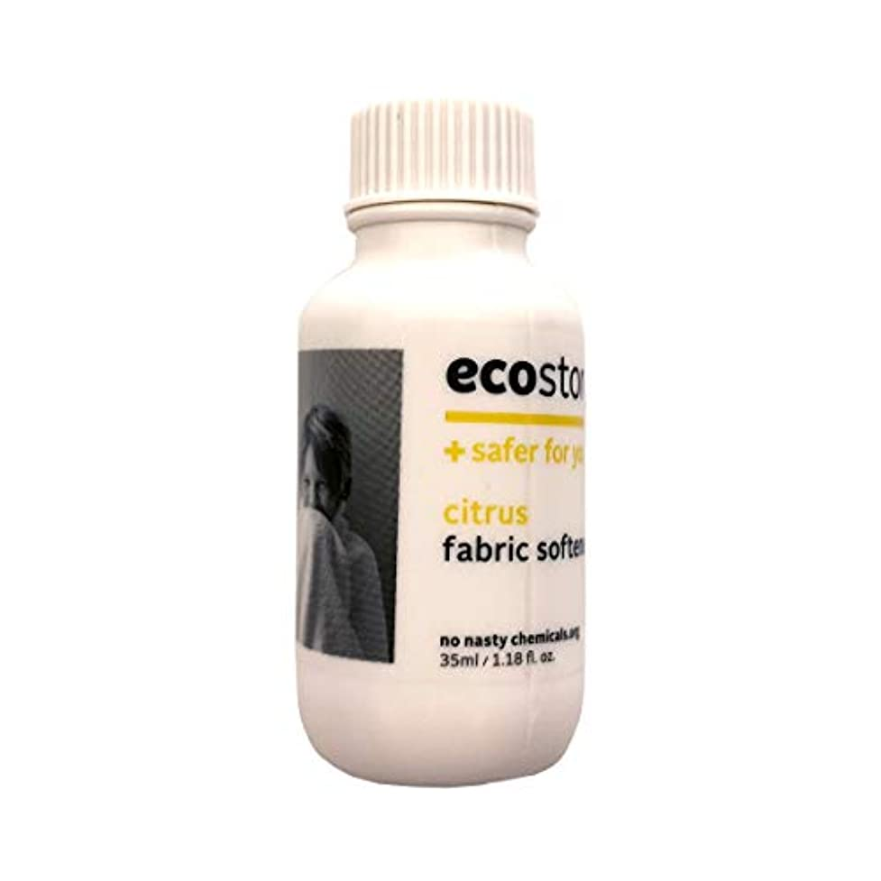 輪郭再生可能ラベルecostore(エコストア) ファブリックソフナー  シトラス 35ml 柔軟仕上げ剤 実質無料サンプルストア対象