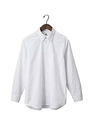 LIBERATON(リベレートン) ストレッチドレスシャツ ブロード PT-002 (XL, ホワイト)