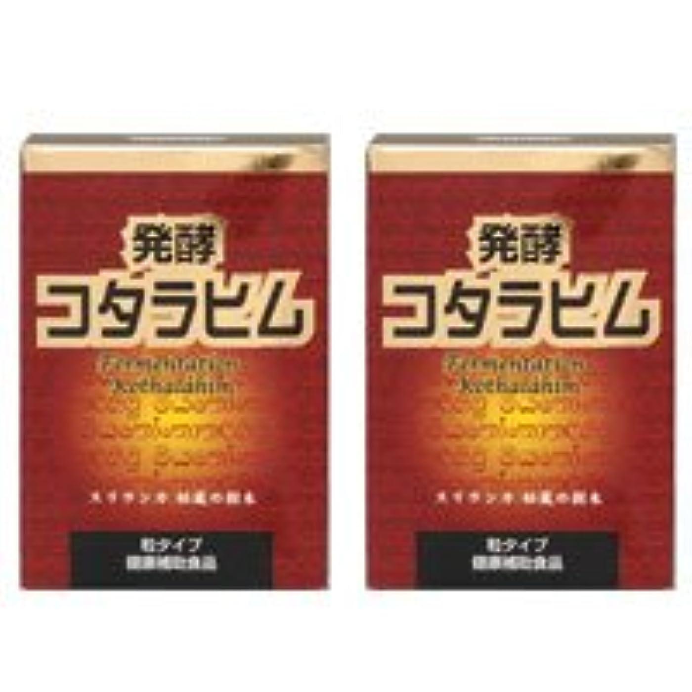 目指す派手研究所発酵コタラヒム2個セット【糖を変化させるコタラヒム】