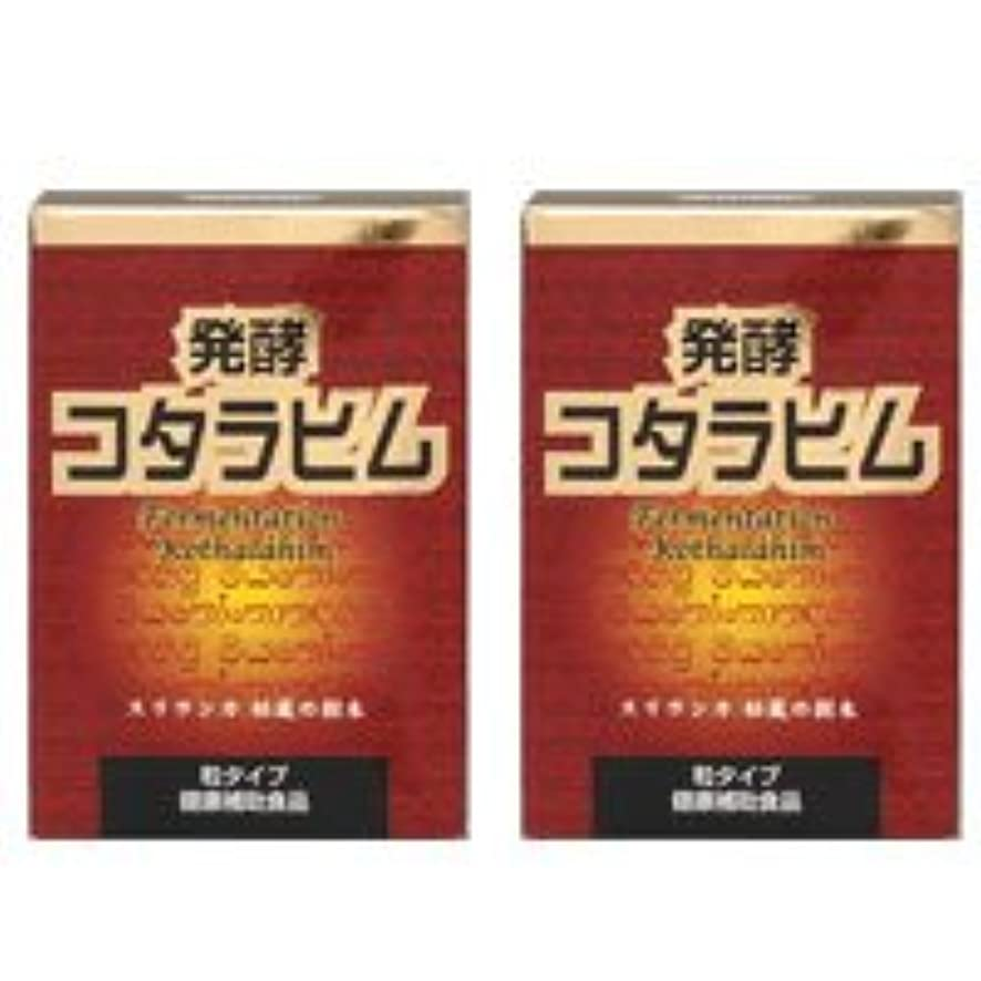 圧倒的依存黄ばむ発酵コタラヒム2個セット【糖を変化させるコタラヒム】