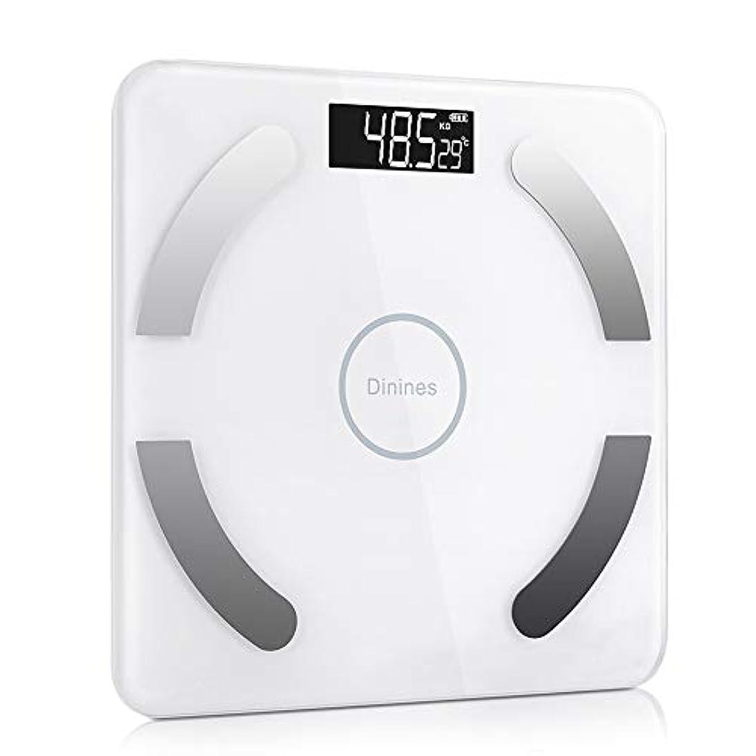夜イサカ国内の体重計 体組成計 体脂肪計 ヘルスメーター スマホ連動 USB充電 Bluetooth対応 体重?体脂肪?体組成計 体重/体脂肪率/体水分率/推定骨量/基礎代謝量/内臓脂肪レベル/BMIなど測定可能 ダイエット アプリで管理