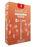 Marca Premium Clarinette SIB 4.5 Pack de 10 Anches pour Clarinette