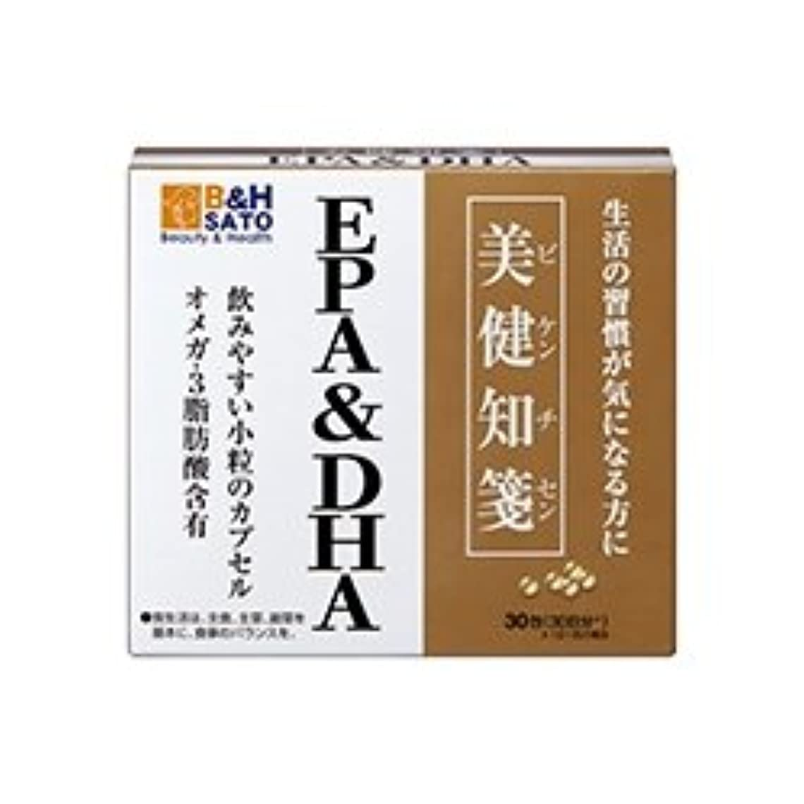 次警報天の佐藤製薬 美健知箋 EPA DHA 30包
