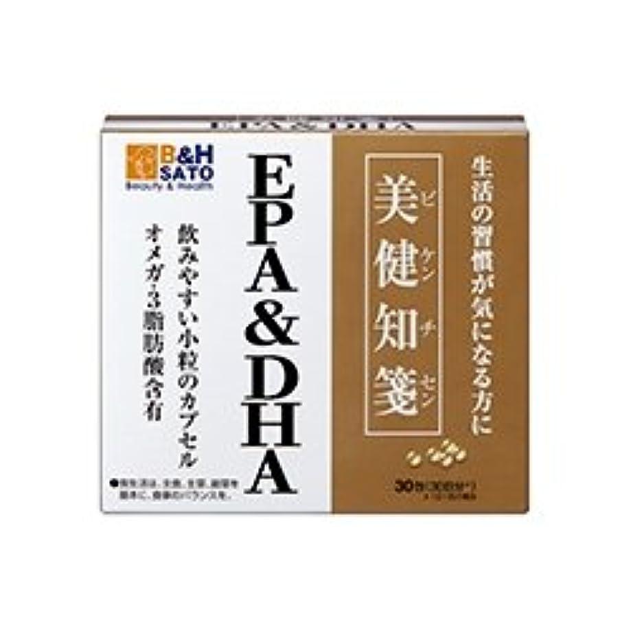 悔い改め仕出しますつま先佐藤製薬 美健知箋 EPA DHA 30包