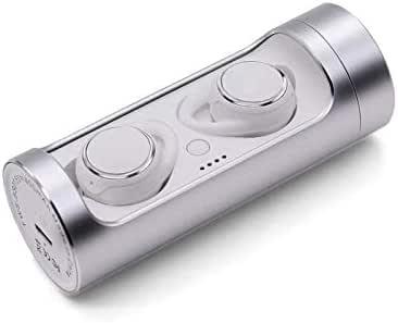 ANZEN ワイヤレス イヤホン Bluetooth イヤホン 完全ワイヤレスイヤホン BS01 Withe