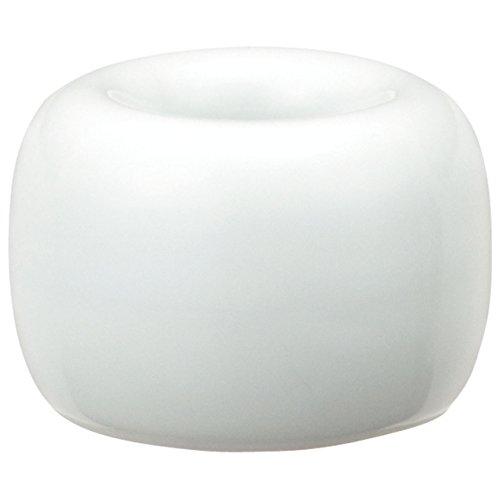 無印良品 白磁歯ブラシスタンド 1本用 約直径4×高さ3cm