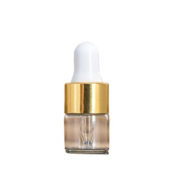 楽観操作可能定義するClear Glass Mini 1ml 15 Pcs Refillable Essential Oil Dropper Bottles Containers Cosmetic Sample Bottles Aromatherapy...