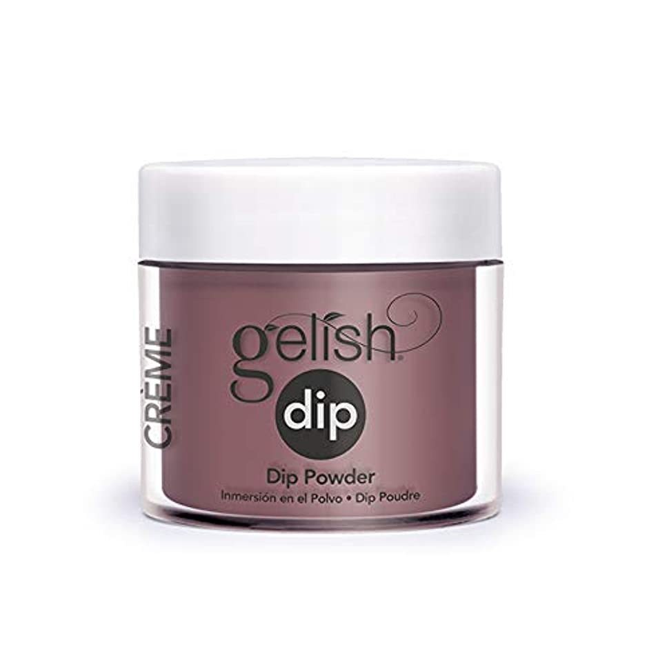 泥だらけ取得不可能なHarmony Gelish - Acrylic Dip Powder - A Little Naughty - 23g / 0.8oz