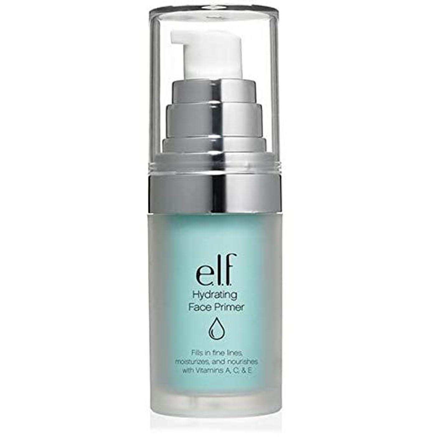 人柄見出し大混乱[Elf ] エルフ。水和顔プライマー - e.l.f. Hydrating Face Primer [並行輸入品]