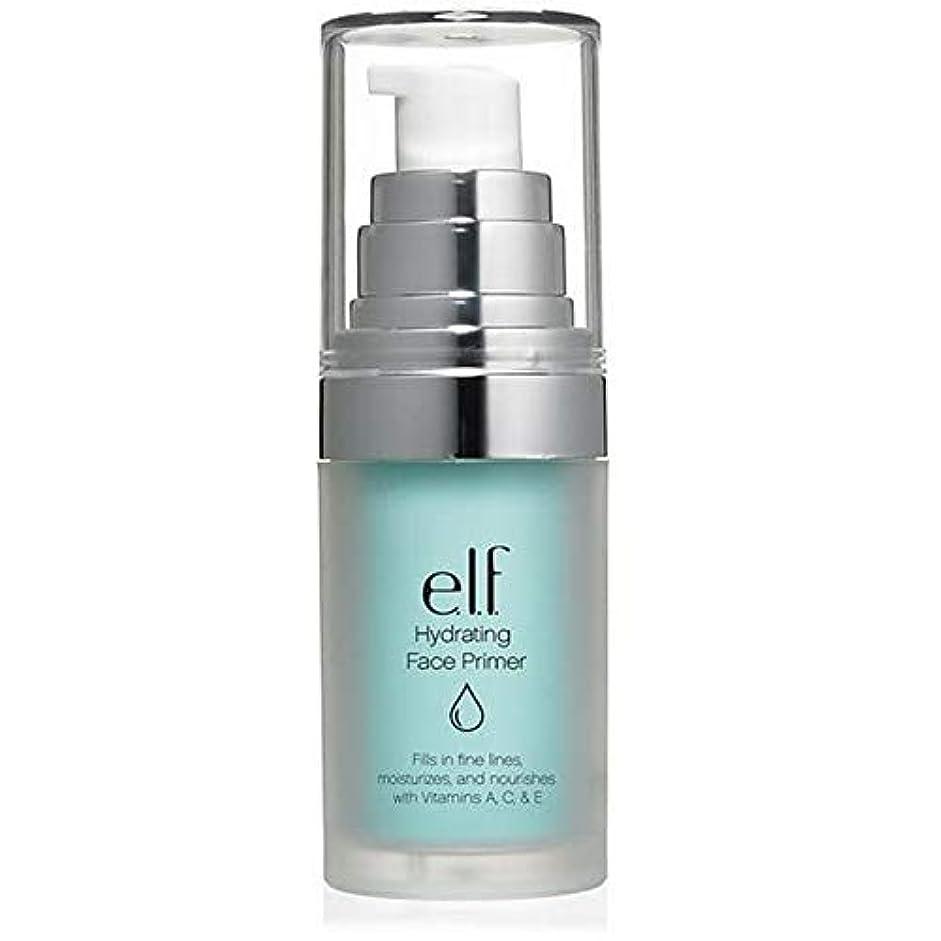 レギュラー怒り進化する[Elf ] エルフ。水和顔プライマー - e.l.f. Hydrating Face Primer [並行輸入品]