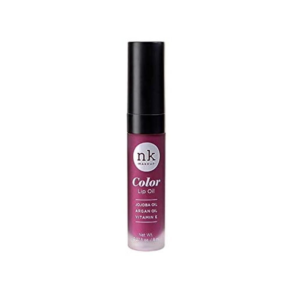 モート水銀の完了NICKA K Color Lip Oil - Vintage Plum (並行輸入品)