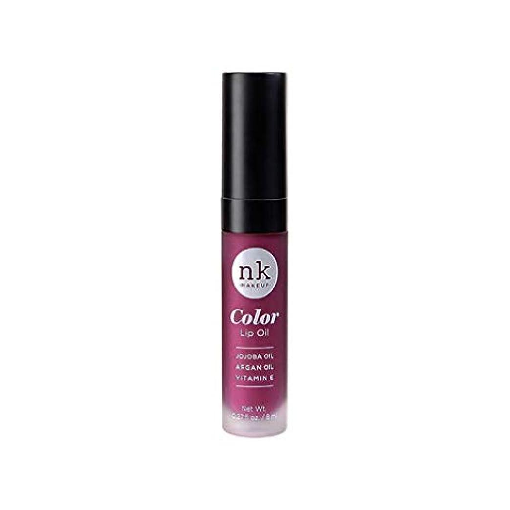 拡大する貨物トラップNICKA K Color Lip Oil - Vintage Plum (並行輸入品)