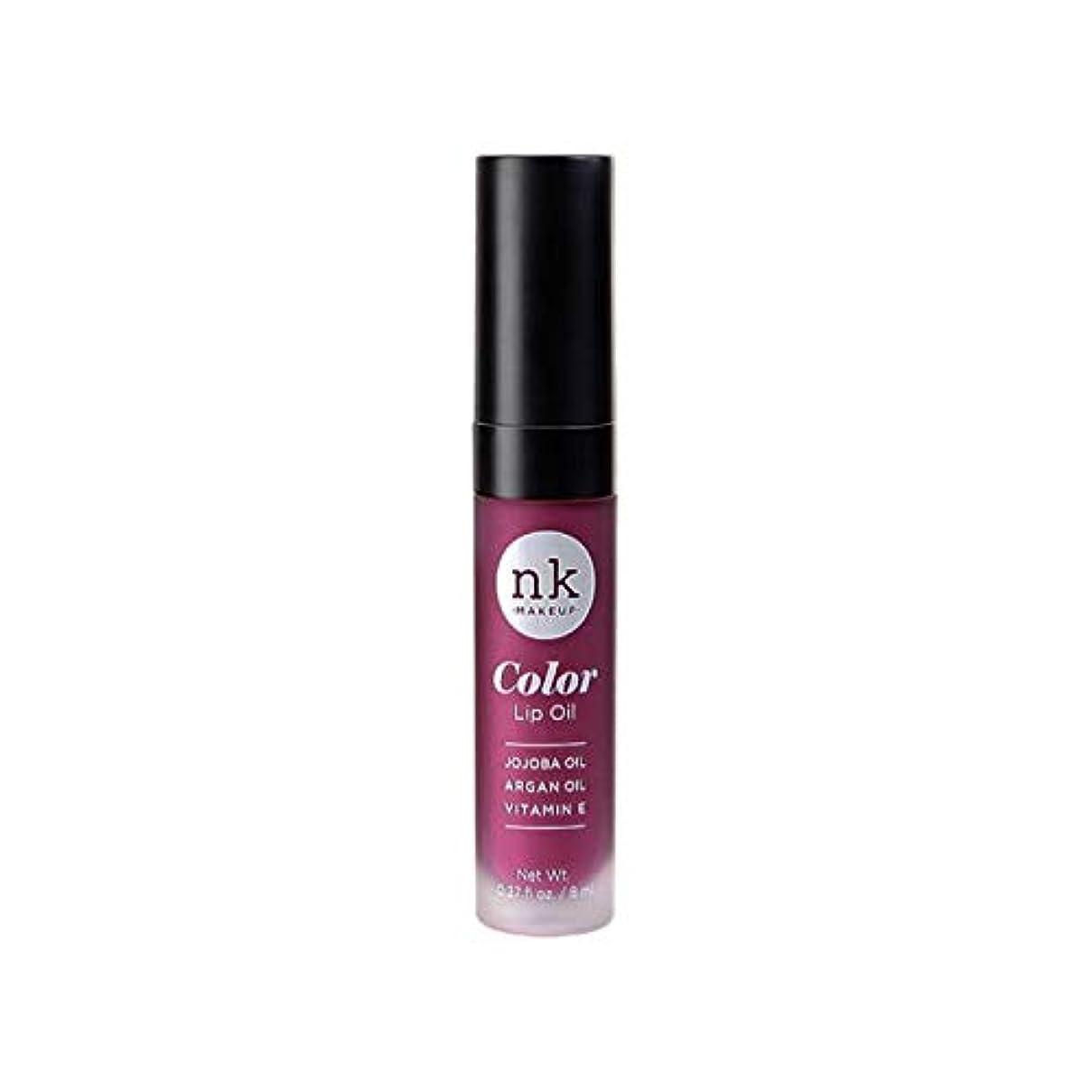 NICKA K Color Lip Oil - Vintage Plum (並行輸入品)