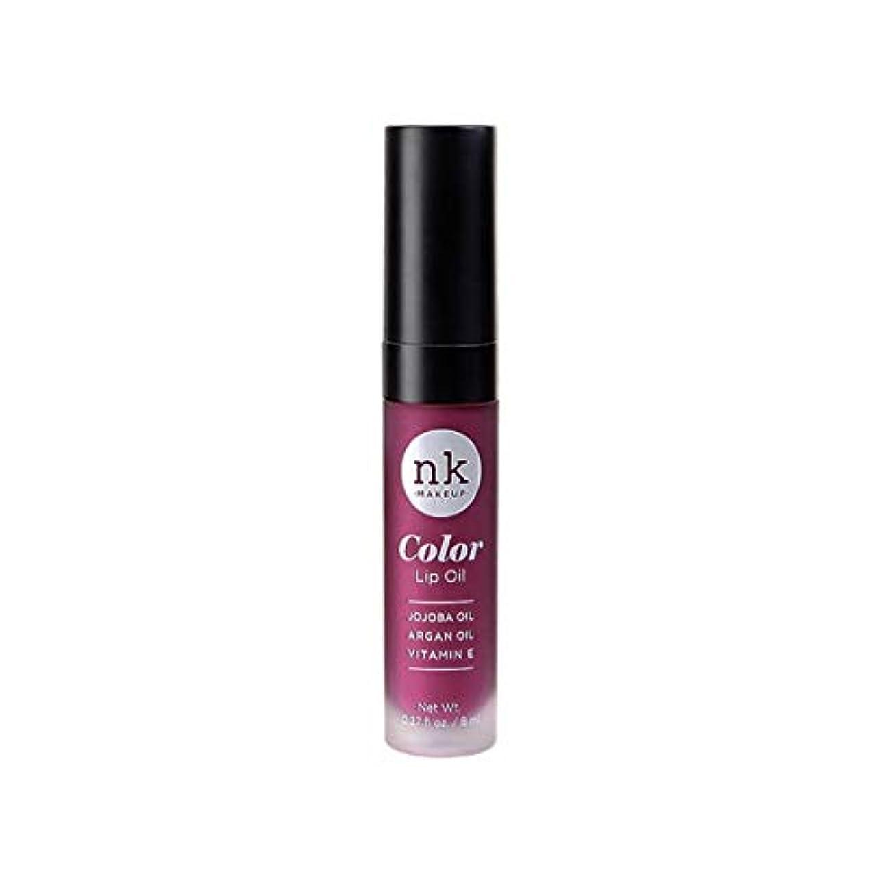 役に立たない裏切り者良心的NICKA K Color Lip Oil - Vintage Plum (並行輸入品)