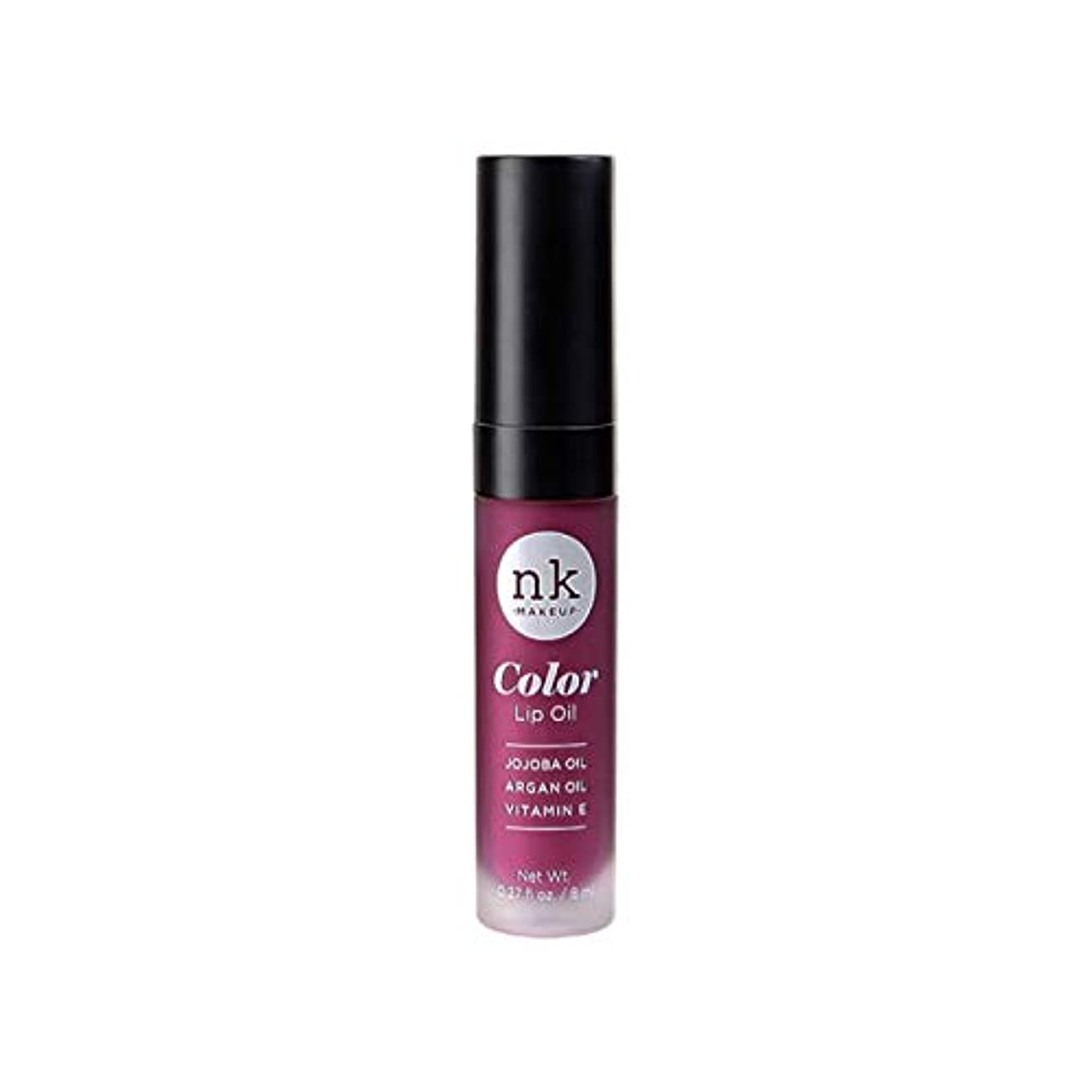 連合学校狂ったNICKA K Color Lip Oil - Vintage Plum (並行輸入品)