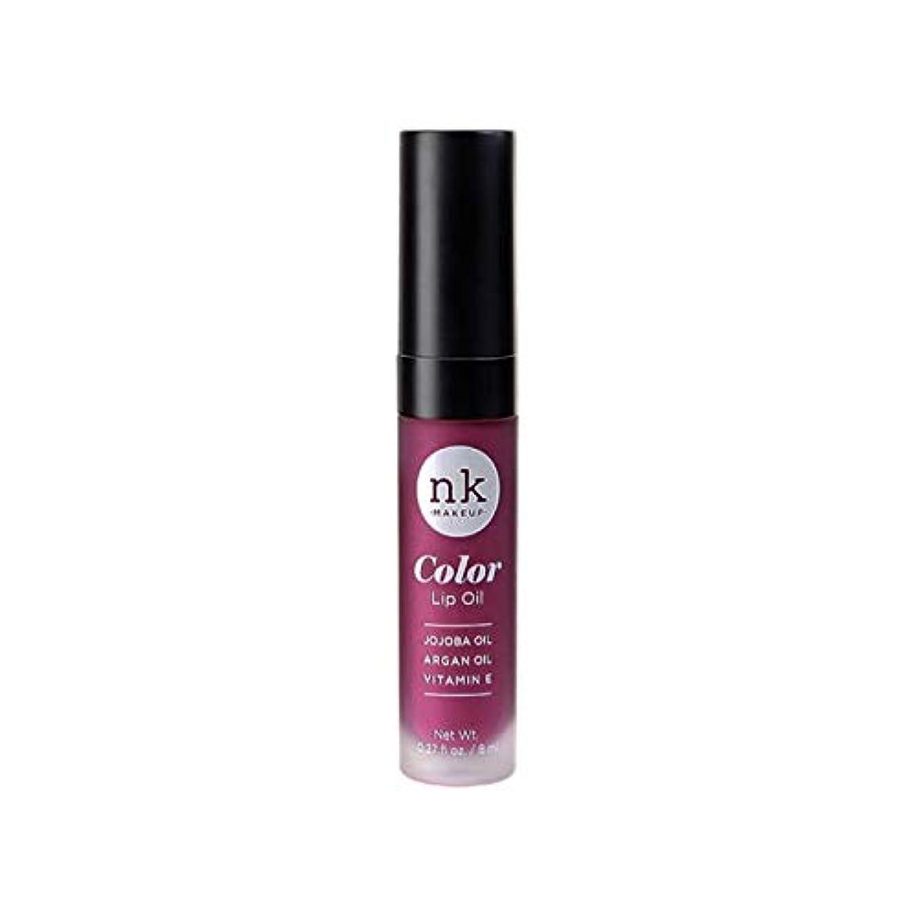 消防士軸ハロウィンNICKA K Color Lip Oil - Vintage Plum (並行輸入品)