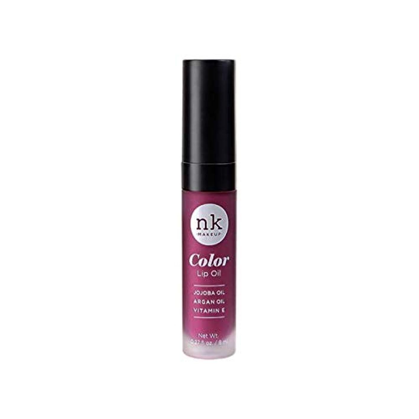 親指荒らすインターネットNICKA K Color Lip Oil - Vintage Plum (並行輸入品)