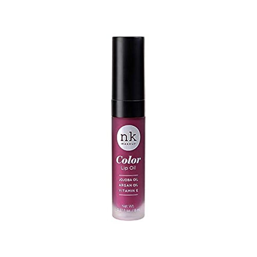 遠征不適山岳NICKA K Color Lip Oil - Vintage Plum (並行輸入品)