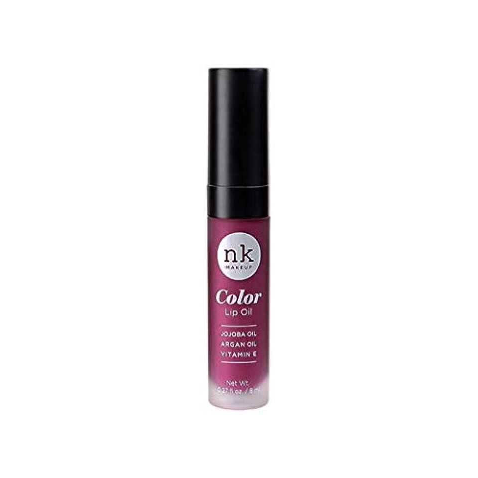 コードうがい発生するNICKA K Color Lip Oil - Vintage Plum (並行輸入品)