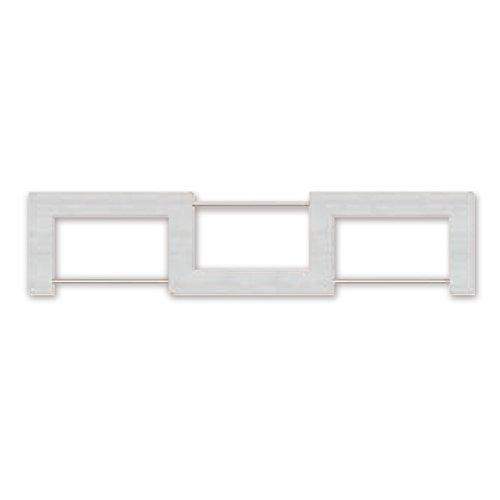 シェルフ 壁掛け 棚 幅57×奥行13.5×高さ13cm ホワイト 白 日本製 ウォールシェルフ