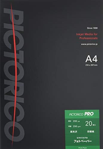 PICTORICO ピクトリコプロ・フォトペーパー PPR200-A4/20 [A...
