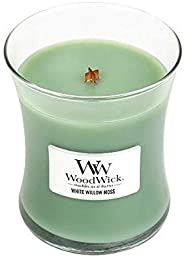 WoodWick White Willow Moss Medium Hourglass Candle
