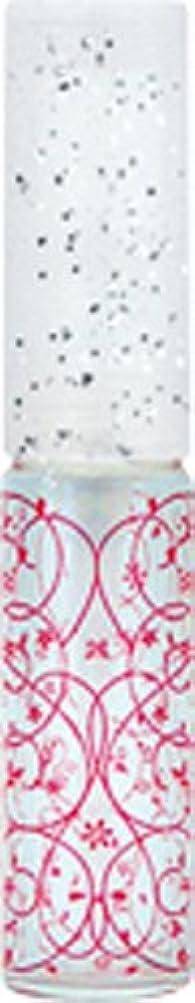 休日ににじみ出る豊富な50441 【ヤマダアトマイザー】 グラスアトマイザー プラスチックポンプ 柄 アラベスク レッド