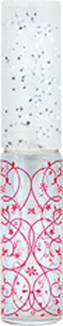 完了盗難異邦人50441 【ヤマダアトマイザー】 グラスアトマイザー プラスチックポンプ 柄 アラベスク レッド
