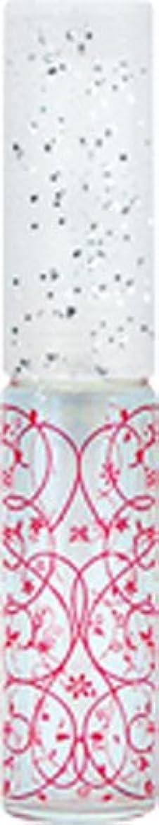天文学兄離れて50441 【ヤマダアトマイザー】 グラスアトマイザー プラスチックポンプ 柄 アラベスク レッド
