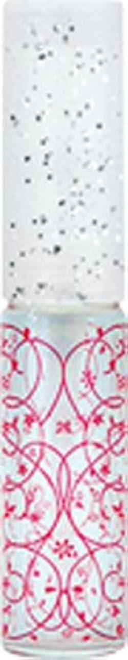 スペース怠豊富50441 【ヤマダアトマイザー】 グラスアトマイザー プラスチックポンプ 柄 アラベスク レッド