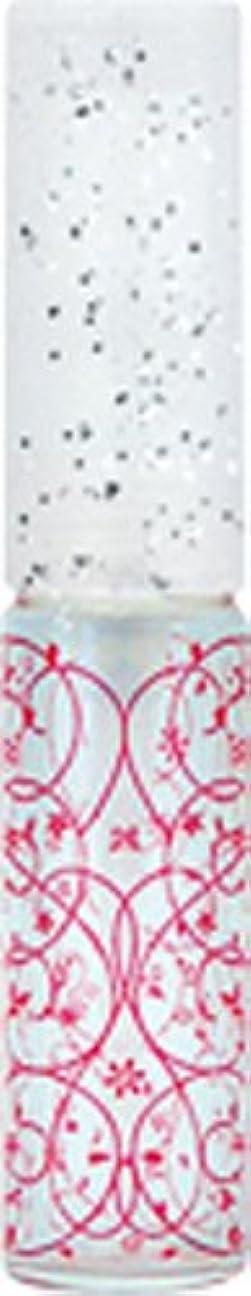 カポック救援トロリー50441 【ヤマダアトマイザー】 グラスアトマイザー プラスチックポンプ 柄 アラベスク レッド
