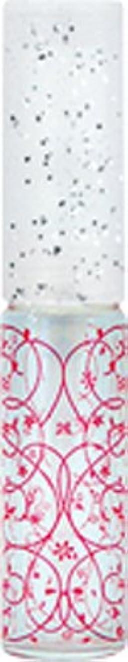 補充レースチョップ50441 【ヤマダアトマイザー】 グラスアトマイザー プラスチックポンプ 柄 アラベスク レッド