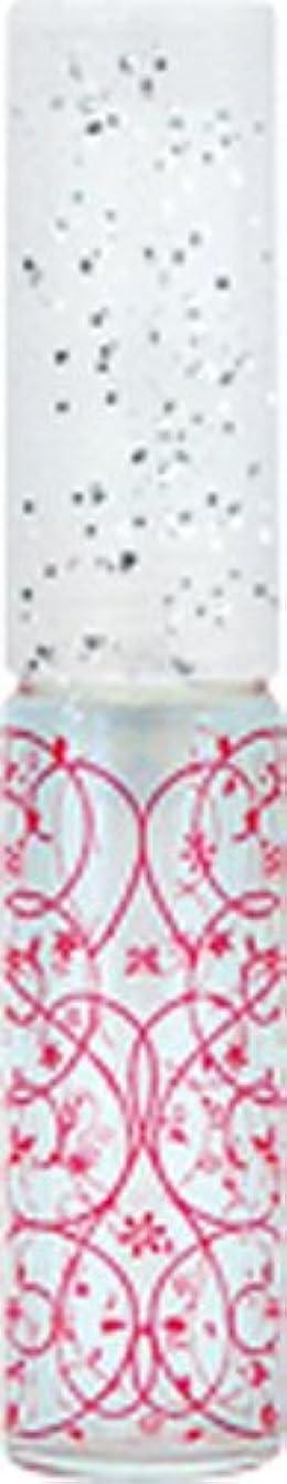 ルームすることになっているアンテナ50441 【ヤマダアトマイザー】 グラスアトマイザー プラスチックポンプ 柄 アラベスク レッド