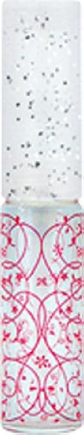 速度反発エーカー50441 【ヤマダアトマイザー】 グラスアトマイザー プラスチックポンプ 柄 アラベスク レッド