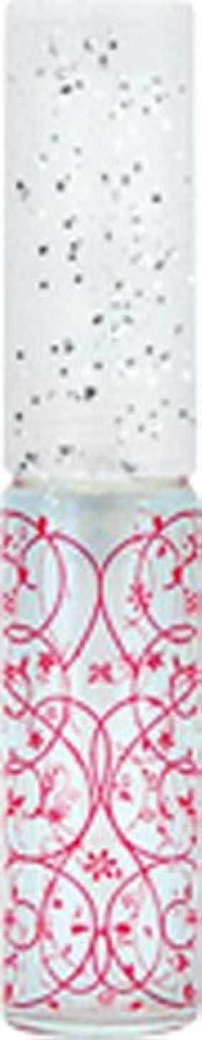 小麦粉脅威ゲーム50441 【ヤマダアトマイザー】 グラスアトマイザー プラスチックポンプ 柄 アラベスク レッド