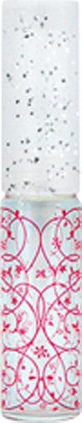 移民こどもセンターマウントバンク50441 【ヤマダアトマイザー】 グラスアトマイザー プラスチックポンプ 柄 アラベスク レッド
