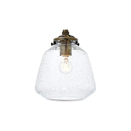 RoomClip商品情報 - スポットライト シーリングライト 1灯 電球付属 Faget(S) ファジェS クリア(気泡ガラス) LT-3161CL インターフォルム(INTERFORM) LT-3161CL