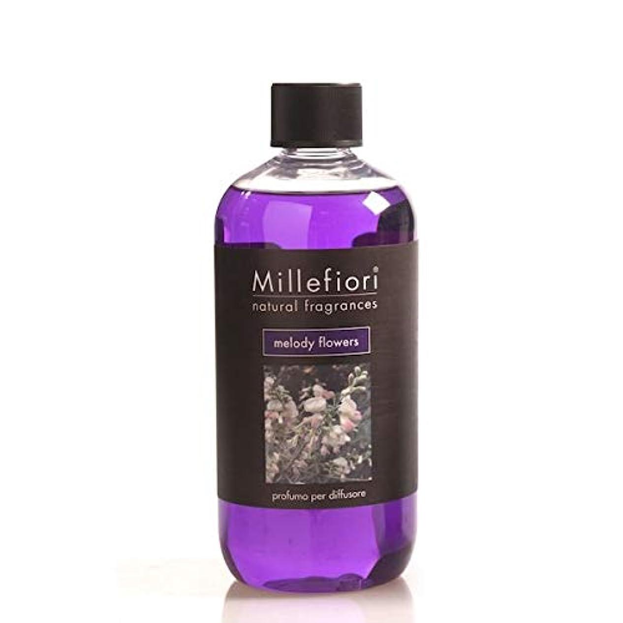 ヨーロッパ器具加速度ミッレフィオーリ(Millefiori) Natural メロディフラワー(MELODY FLOWERS) 交換用リフィル500ml [並行輸入品]