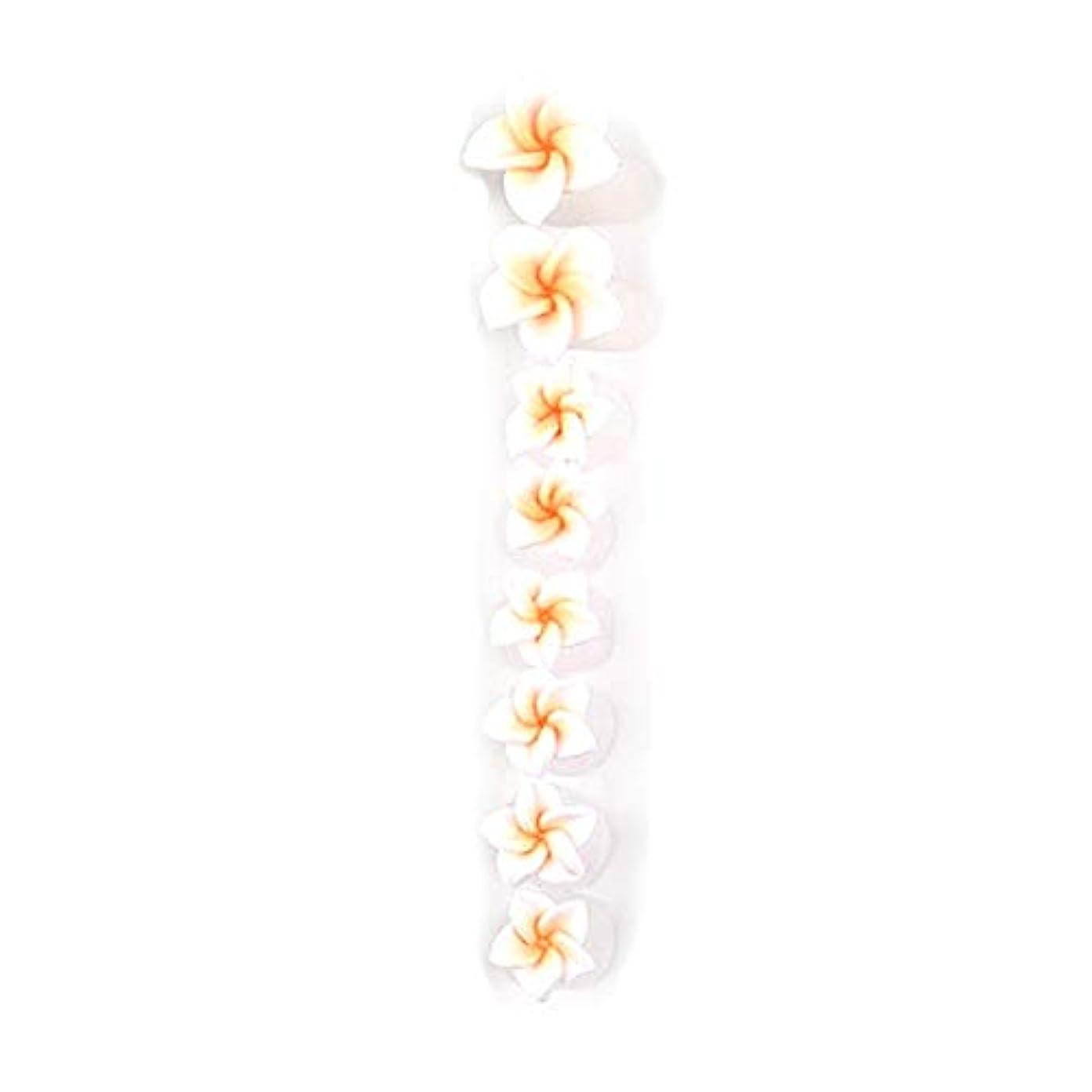 感情コース横8ピース/セットシリコンつま先セパレーター足つま先スペーサー花形ペディキュアDIYネイルアートツール-カラフル01#
