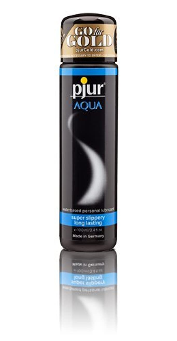 行動後方にシーズンPjur Aqua Bottle Lubricant - 100ml