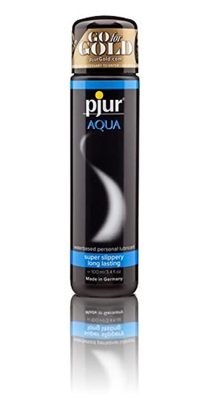 そうでなければ再発する苦悩Pjur Aqua Bottle Lubricant - 100ml