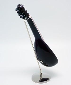 ミニチュア 楽器 フィギュア マンドリン 18cm 専用ケース&スタンド付き