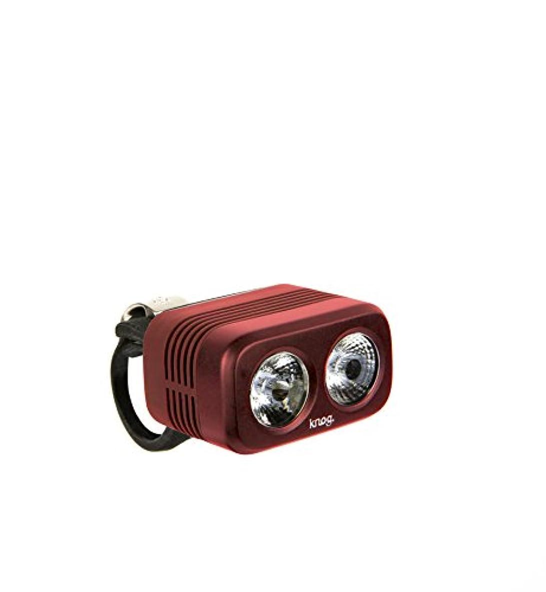 比喩リンク保険knog (ノグ) フロントライト BLINDER ROAD 400 (Ruby)