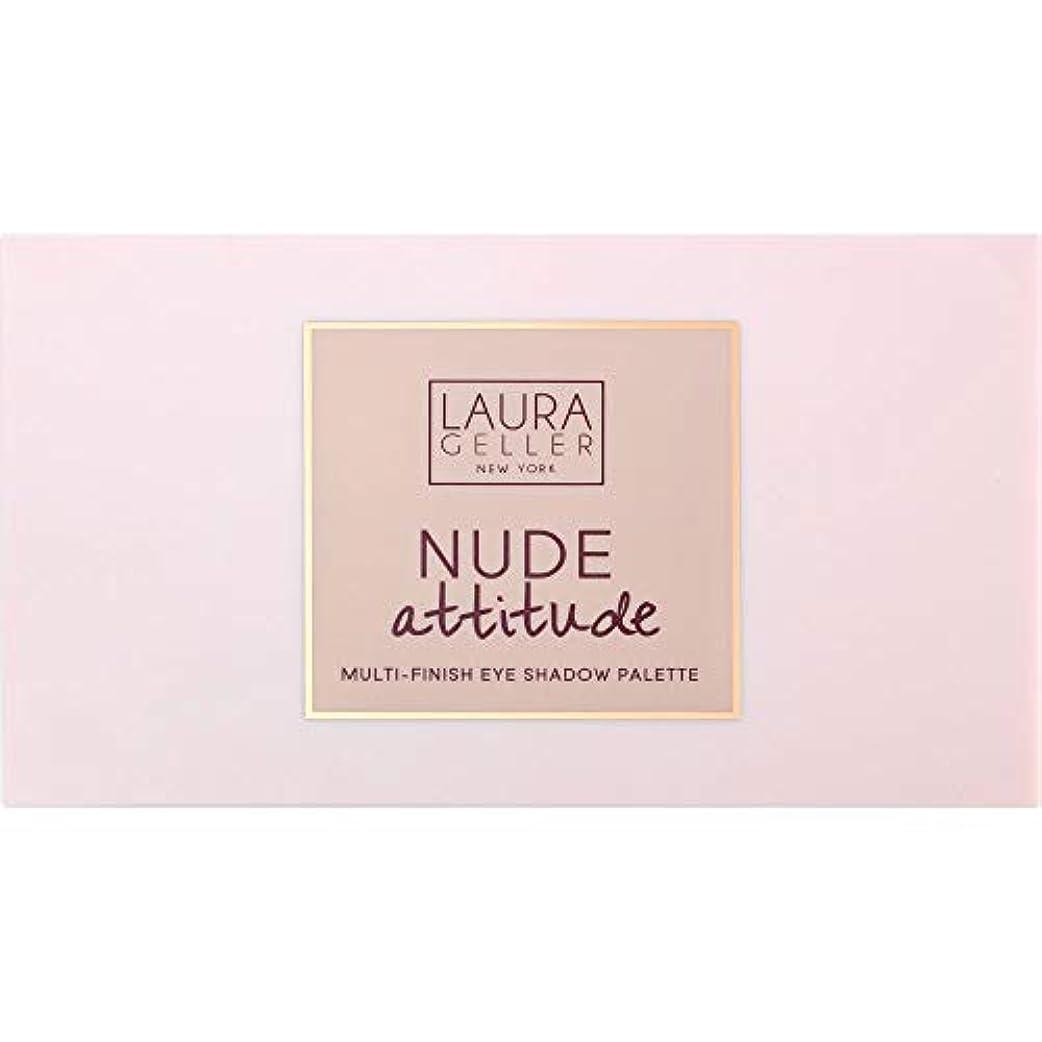 髄命題[Laura Geller ] ローラ?ゲラーヌード態度マルチフィニッシュアイシャドウパレット12×1.1グラム - Laura Geller Nude Attitude Multi-Finish Eye Shadow...