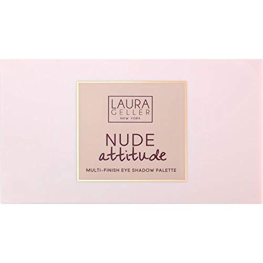 アミューズ学習者半ば[Laura Geller ] ローラ?ゲラーヌード態度マルチフィニッシュアイシャドウパレット12×1.1グラム - Laura Geller Nude Attitude Multi-Finish Eye Shadow...