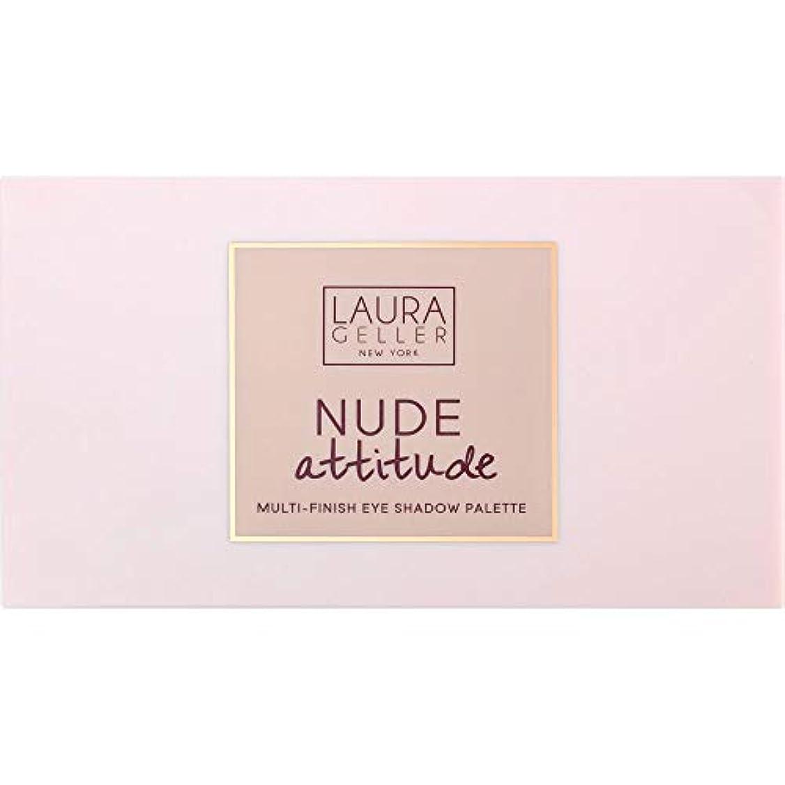 リテラシーデザイナー洗練された[Laura Geller ] ローラ?ゲラーヌード態度マルチフィニッシュアイシャドウパレット12×1.1グラム - Laura Geller Nude Attitude Multi-Finish Eye Shadow...