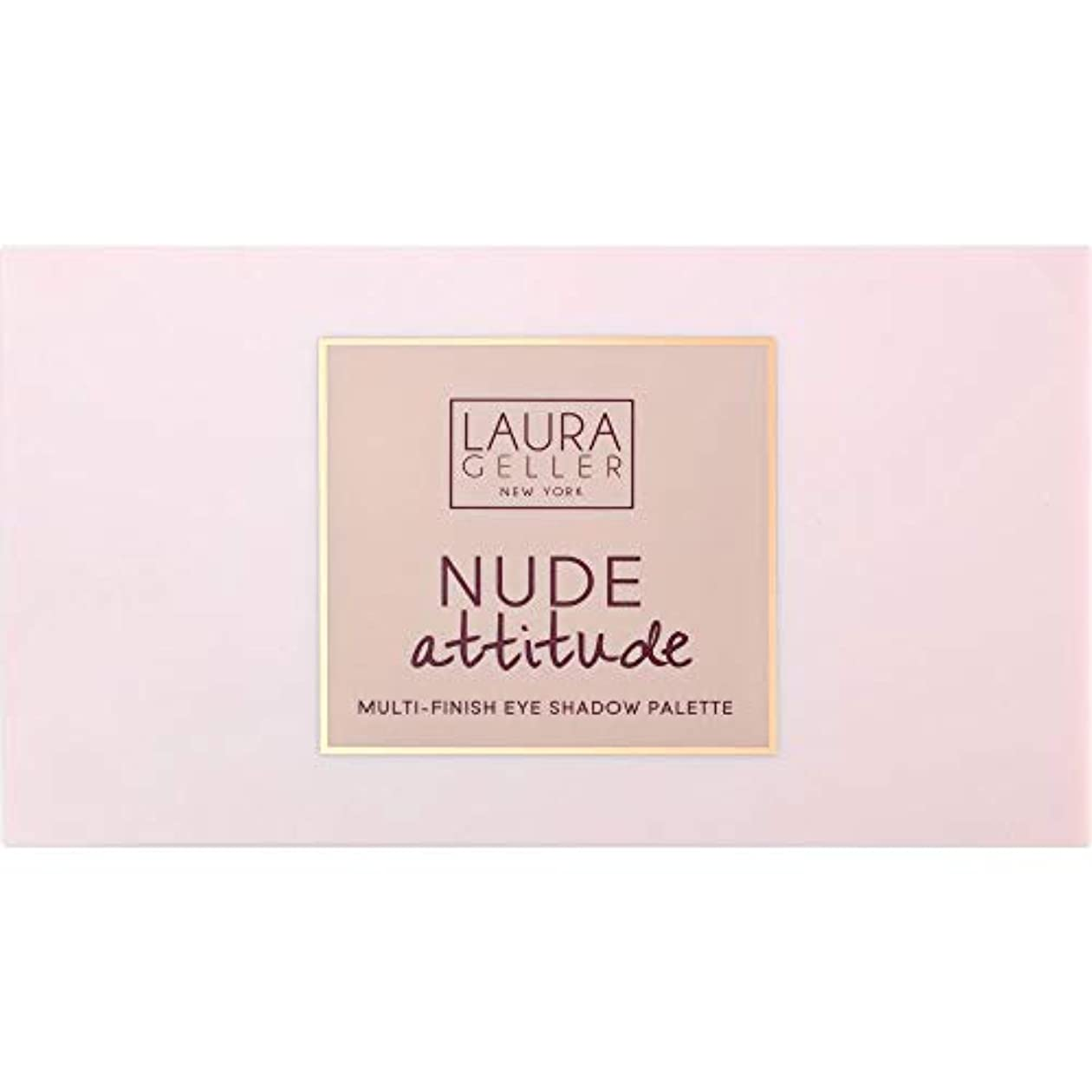 パラナ川ゴミビスケット[Laura Geller ] ローラ?ゲラーヌード態度マルチフィニッシュアイシャドウパレット12×1.1グラム - Laura Geller Nude Attitude Multi-Finish Eye Shadow...
